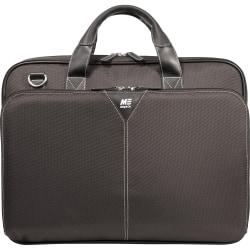 "Mobile Edge Select Nylon Laptop Briefcase - Briefcase - Shoulder Strap , Trolley Strap , Handle - 16"" Screen Support - Ballistic Nylon - Black"