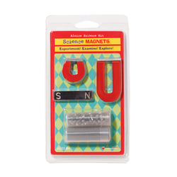 """Dowling Magnets Alnico Science Kit, 3""""H x 1/4""""W x 1/2""""D, Grades 3-6"""
