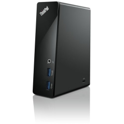 Lenovo ThinkPad USB 3.0 Dock - USB - 4 x Total USB Ports - Network (RJ-45) - DVI - Wired - Headphone - Microphone - PS/2 Port
