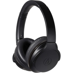 Audio-Technica ATH-ANC900BT QuietPoint Wireless Active Noise-Cancelling Headphones - Black