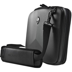 "Mobile Edge Alienware Vindicator Carrying Case (Tote) for 14.1"" Notebook - Black - Weather Resistant Exterior, Scrape Resistant Interior, Scratch Resistant Interior - Nylon - Alienware Logo, Alien Head Logo - Shoulder Strap, Handle"