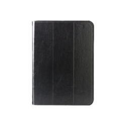 The Joy Factory SmartBlazer Carrying Case (Folio) Apple iPad Air Tablet - Black - Scratch Resistant Interior, Smudge Resistant Interior - Genuine Leather
