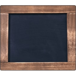 """Schoolgirl Style Industrial Chic Chalkboard Mini Single Cut-Outs, 5 1/4""""H x 3 7/16""""W x 1/2""""D, Pack Of 36 Cut-Outs"""