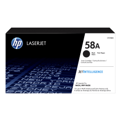 HP LaserJet 58A Black Toner Cartridge (CF258A)