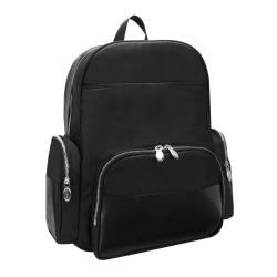 "McKlein N-Series Cumberland Nano Tech Backpack With 17"" Laptop Pocket, Black"