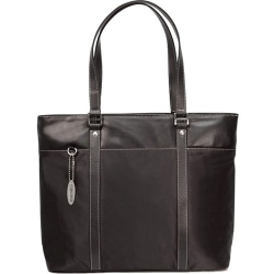 Mobile Edge Ultra Tote Notebook Case - Top-loading - Leather - Black