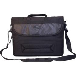"Mobile Edge 17.3"" Canvas ECO Messenger Bag - Black"
