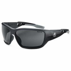 Ergodyne Skullerz® Safety Glasses, Baldr, Polarized, Matte Black Frame, Smoke Lens