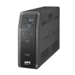 APC BR1000MS Back-UPS Pro 10-Outlet UPS, 1,000VA/600 Watts