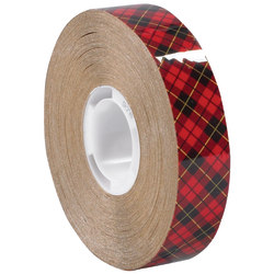 """Scotch® 976 Adhesive Transfer Tape, 1"""" Core, 0.25"""" x 36 Yd., Clear, Case Of 72"""