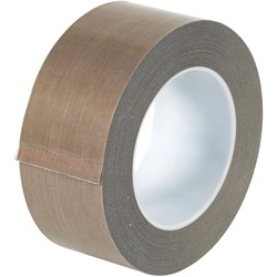"Office Depot® Brand PTFE Glass Cloth Tape, 3 Mils, 3"" Core, 2"" x 54', Brown"