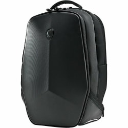 "Mobile Edge Alienware Vindicator AWVBP18 Carrying Case (Backpack) for 18"" to 18.4"" Notebook - Black - Weather Resistant Base - 1680D Ballistic Nylon - Alienware Logo - Chest Strap, Shoulder Strap - 22"" Height x 15"" Width x 7"" Depth"