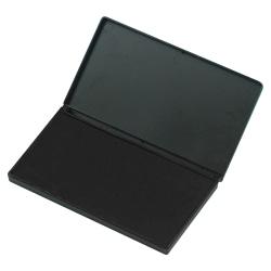 "CLI Stamp Pad - 1 Each - 6.3"" Width x 3.3"" Length - Felt Pad - Black Ink - Black"