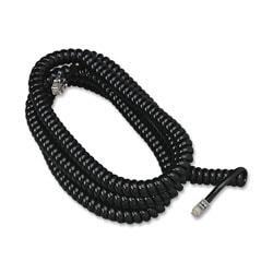 Softalk Phone Coil Cord, 25', Black