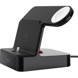 Belkin PowerHouse Charge Dock for Apple Watch + iPhone XS, iPhone XS Max, iPhone XR - Docking - Apple Watch, iPhone - Charging Capability - Lightning - Black