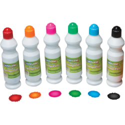 Creativity Street Sponge Paint Set - 2.20 oz - 6 / Set - Assorted