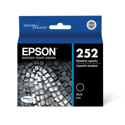 Epson® DuraBrite® Ultra Standard-Capacity Black Ink Cartridge
