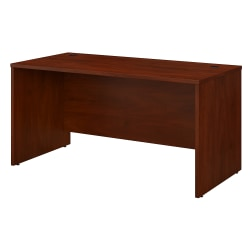 "Bush Business Furniture Studio C Office Desk, 60""W x 30""D, Hansen Cherry, Standard Delivery"