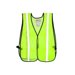 PIP Mesh Safety Vest, One Size, Yellow