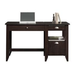 Sauder® Shoal Creek Lift-Top Desk, Jamocha Wood