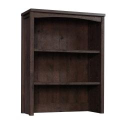 Sauder® Costa Library Hutch, Coffee Oak