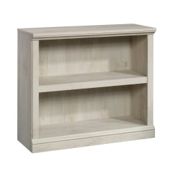 Sauder® Select Bookcase, 2 Shelf, Chalked Chestnut