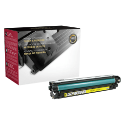 Clover Imaging Group™ 200626P Remanufactured Yellow Toner Cartridge Replacement For HP 651A
