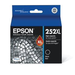 Epson® DuraBrite® Ultra T252XL120-S High-Yield Black Ink Cartridge