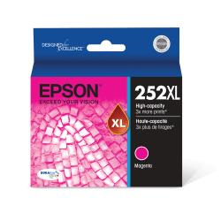 Epson® DuraBrite Ultra T252XL320-S High-Yield Magenta Ink Cartridge