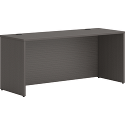 "HON® Mod 66"" Credenza Desk Shell, Slate Teak"