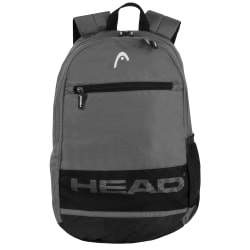"""HEAD Alley Backpack With 15"""" Laptop Pocket, Gray"""