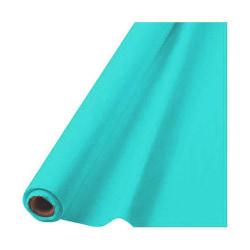 "Amscan Plastic Table Cover Roll, 100' x 40"", Robin's Egg Blue"