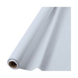 """Amscan Plastic Table Cover Roll, 100' x 40"""", Clear"""