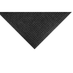 M+A Matting Waterhog Fashion Floor Mat, 3' x 10', Charcoal