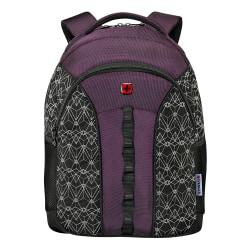"Wenger® Sun Backpack With 16"" Laptop Pocket, Fig Reflective"
