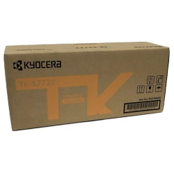 Kyocera TK-5272Y Original Toner Cartridge - Yellow - Laser - 6000 Pages - 1 Each