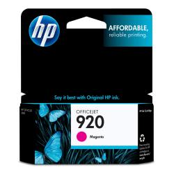HP 920, Magenta Original Ink Cartridge (CH635AN)