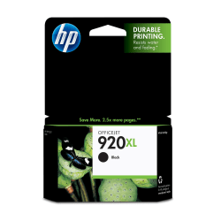 HP 920XL Black Ink Cartridge (CD975AN)