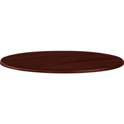 "HON® 42"" Round Conference Table Top, Mahogany"
