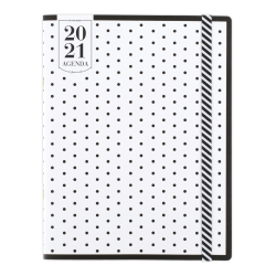 "See Jane Work® 24-Month Monthly Pocket Planner, 3-1/2"" x 6"", Black/White, January 2021 To December 2022, SJ109-021-21"