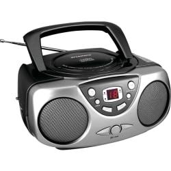 Sylvania Portable CD Radio - 1 x Disc - Black LED - 20 Programable Tracks - CD-DA