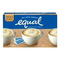 Equal® Original Sweetener, 0.035 Oz., Box Of 500