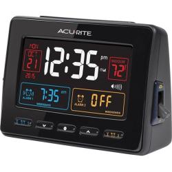 AcuRite Atomic Dual Alarm Clock - Digital - Atomic - LCD