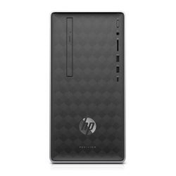HP Pavilion 590-p0107c Refurbished Desktop PC, 9th Gen Intel® Core™ i3, 8GB Memory, 1TB Hard Drive, Windows® 10 Home