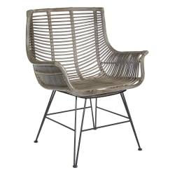 Office Star™ Dallas Chair, Gray Wash