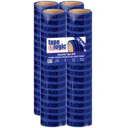 "Tape Logic® Secure Tape, 3"" Core, 3"" x 60 Yd., Blue, Case Of 24"