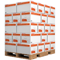 """Office Depot® ImagePrint® Multi-Use Paper, Letter Size (8 1/2"""" x 11""""), 20 Lb, FSC® Certified, Ream Of 500 Sheets, 10 Reams Per Case, Pallet Of 40 Cases, Dock Delivery"""