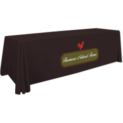 "Custom Full Color Standard Table Throw, 96"" x 28"""
