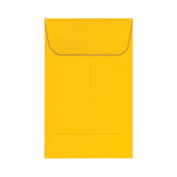 "LUX Coin Envelopes, #1, 2 1/4"" x 3 1/2"", Sunflower, Pack Of 250"