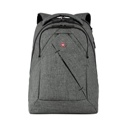 Wenger® MoveUp 16 Laptop Backpack, Charcoal Heather